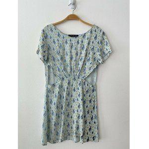 For Love & Lemon Green Mini Dress